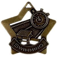 Mini Star Swimming Medal</br>AM718B